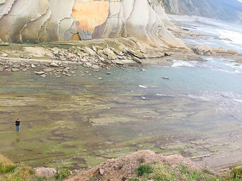 Flysch - Geoparque de la Costa Vasca - Rasas mareales