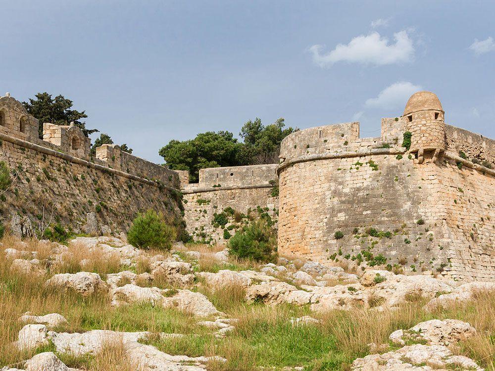 La Fortezza, el símbolo veneciano más importante de Creta