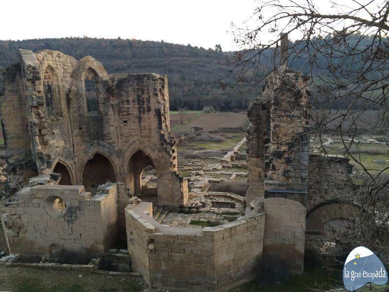 Ruinas del Monasterio cistercense de Vallsanta