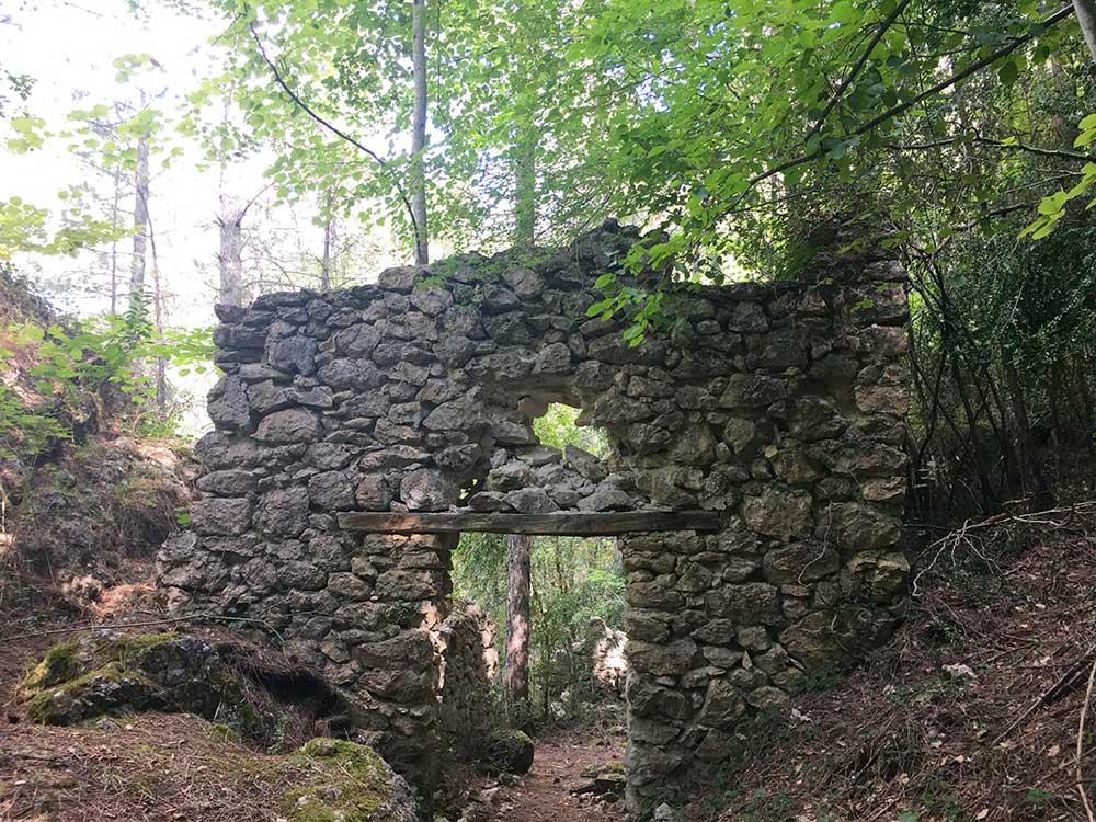 Hoz de Beteta y sumidero de Mata Asnos - Antigua estación