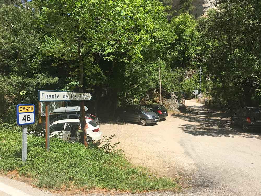 Hoz de Beteta y sumidero de Mata Asnos - Parking Fuente de los Tilos