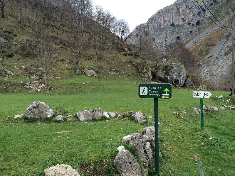 Inicio de la Ruta del Cares - Ruta 4x4 por los Picos de Europa