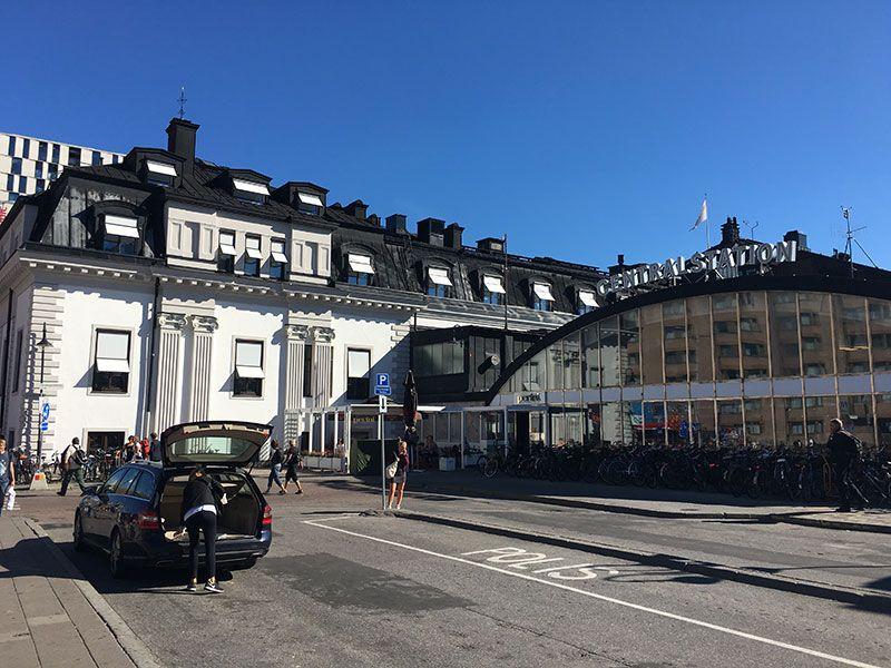 Cómo ir del aeropuerto de Arlanda al centro de Estocolmo - Transporte público - Central Station
