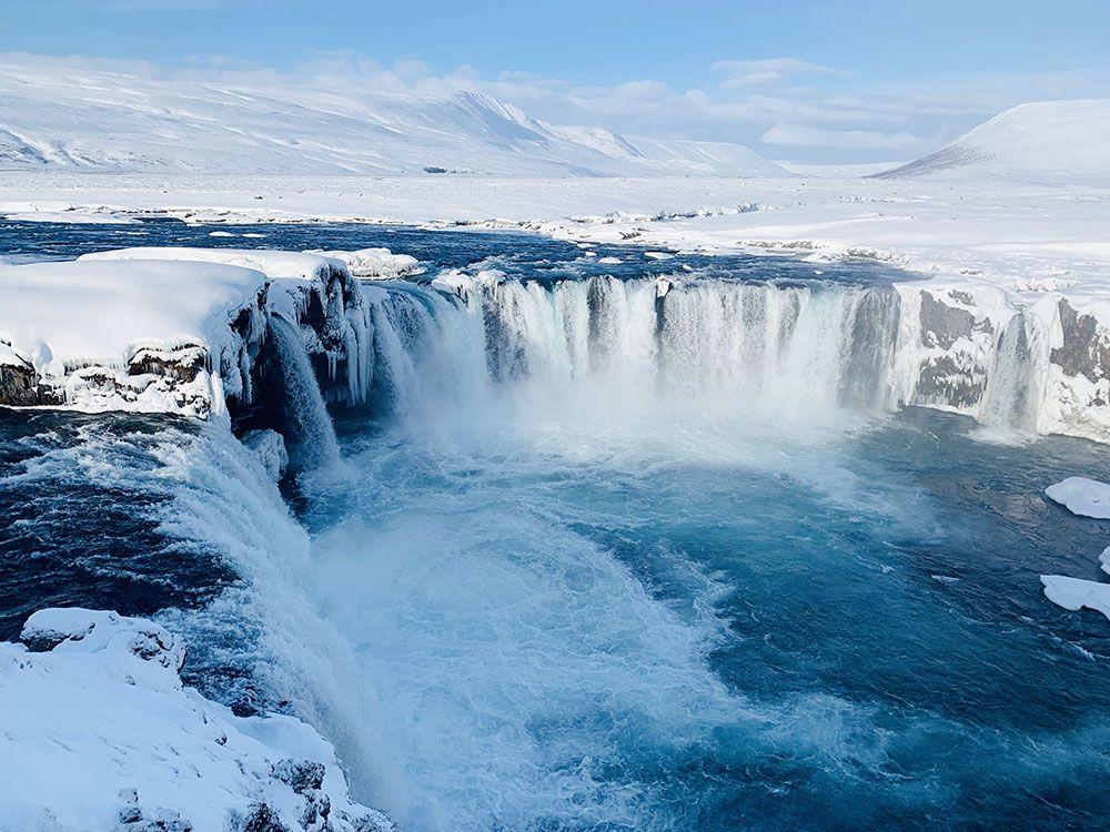 Islandia por libre - Godafoss