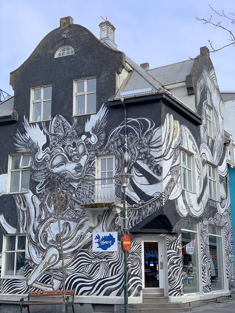 Islandia por libre - Graffiti