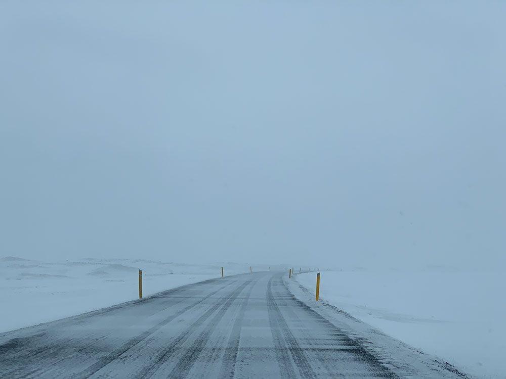 Islandia por libre - Ring Road con nieve