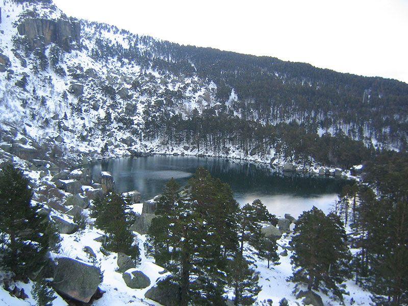 La Laguna Negra - Soria - Invierno