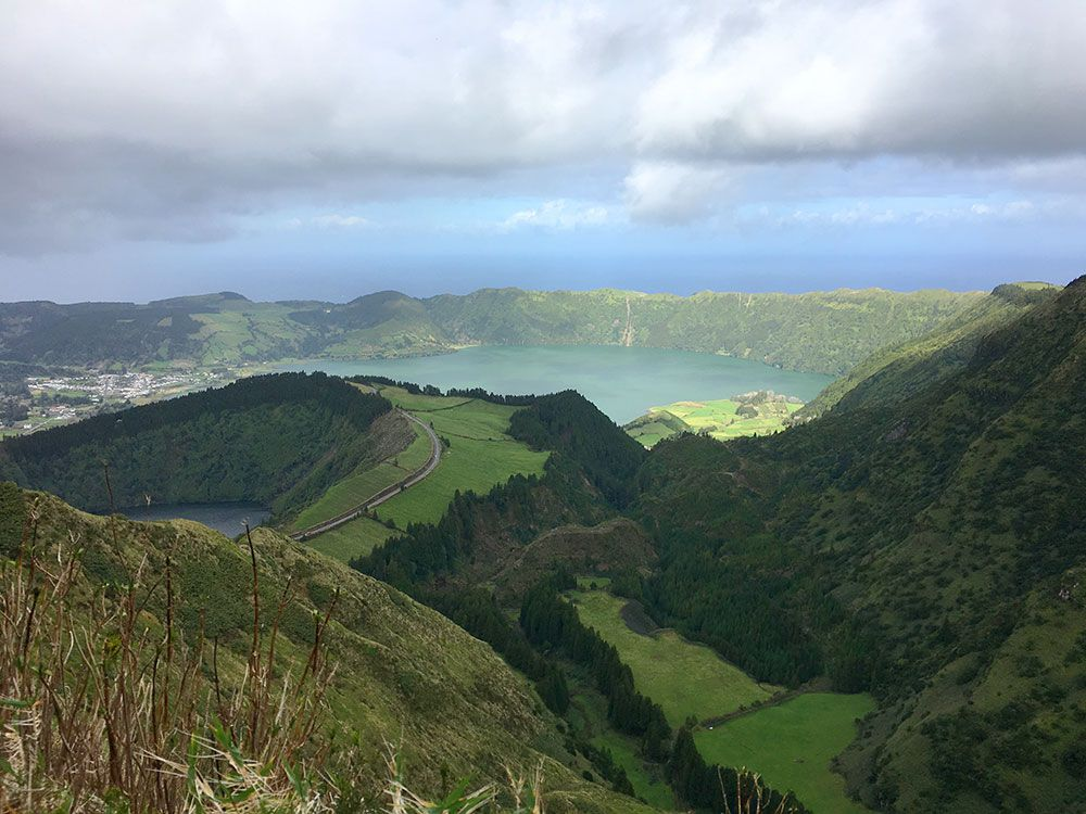 Lagoa Sete Cedades - Isla de São Miguel - Azores - Boca do Inferno