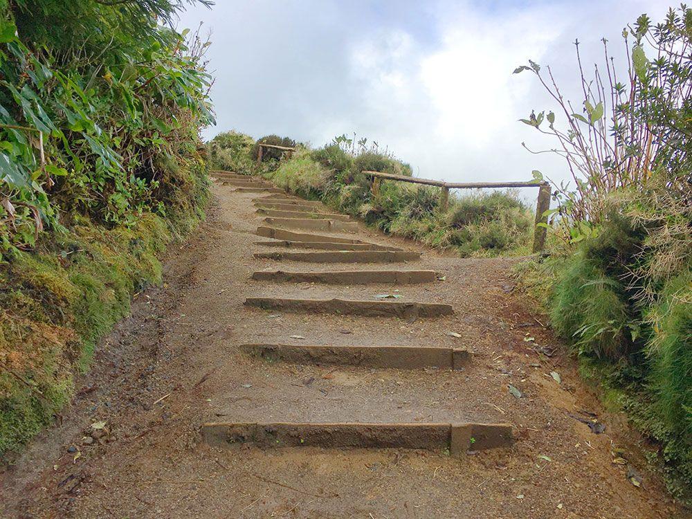 Lagoa Sete Cedades - Isla de São Miguel - Azores - Último tramo de la ruta