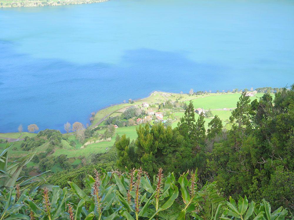 Lagoa Sete Cedades - Isla de São Miguel - Azores - Lago Azul