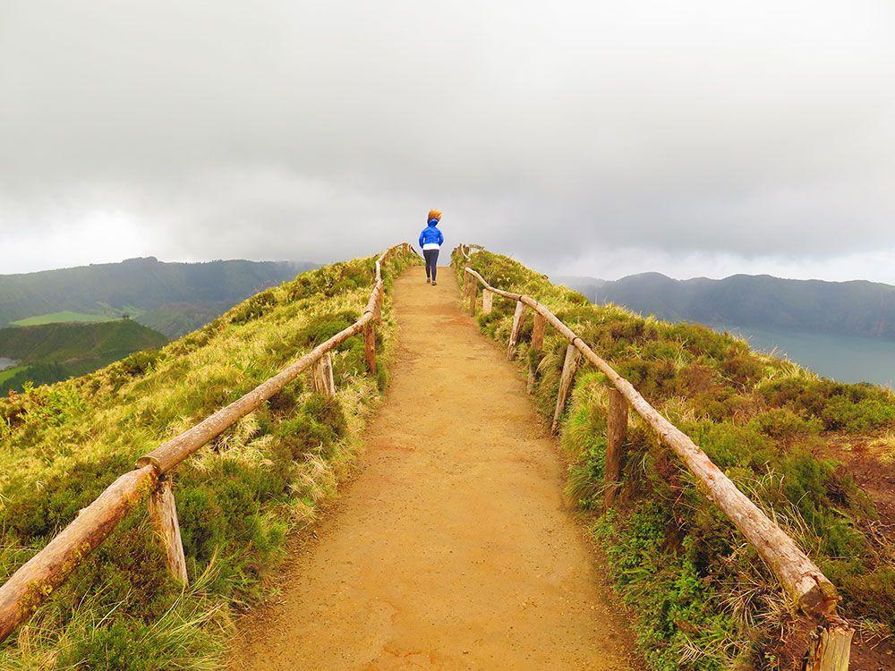 Lagoa Sete Cedades - Isla de São Miguel - Azores - Mirador Boca do Inferno