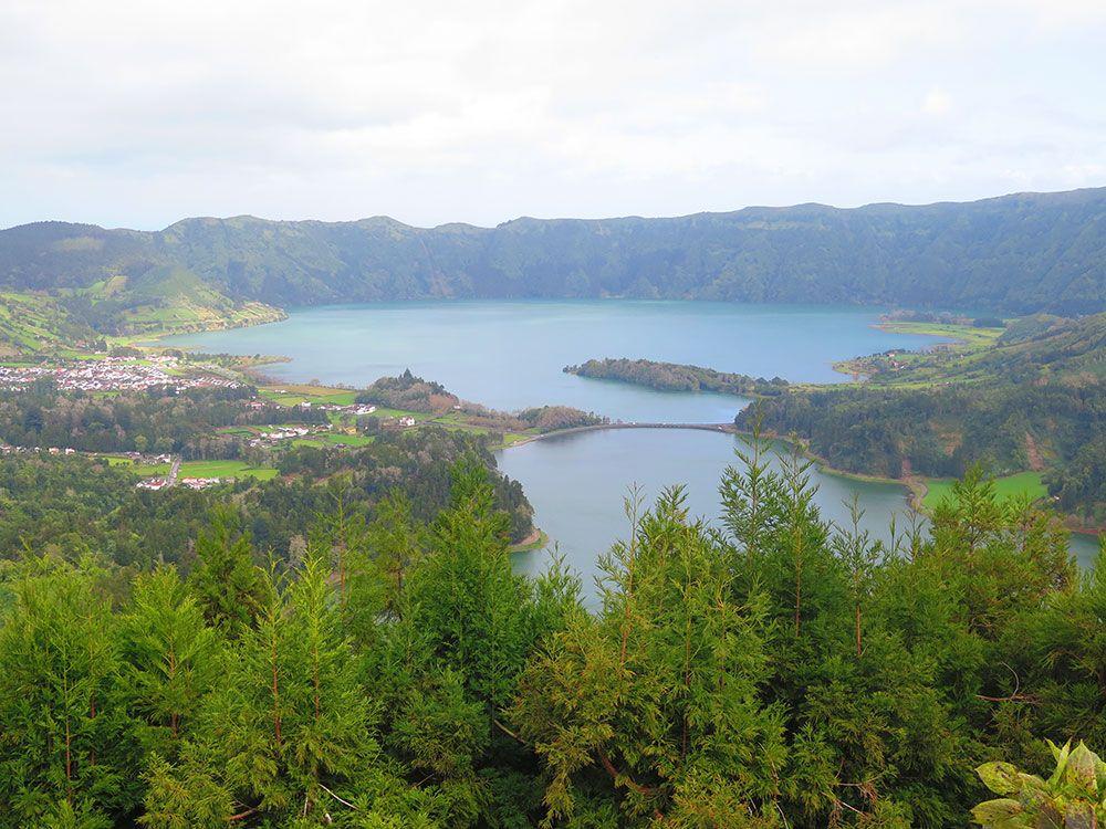 Lagoa Sete Cedades - Isla de São Miguel - Azores - Vistas do Rei