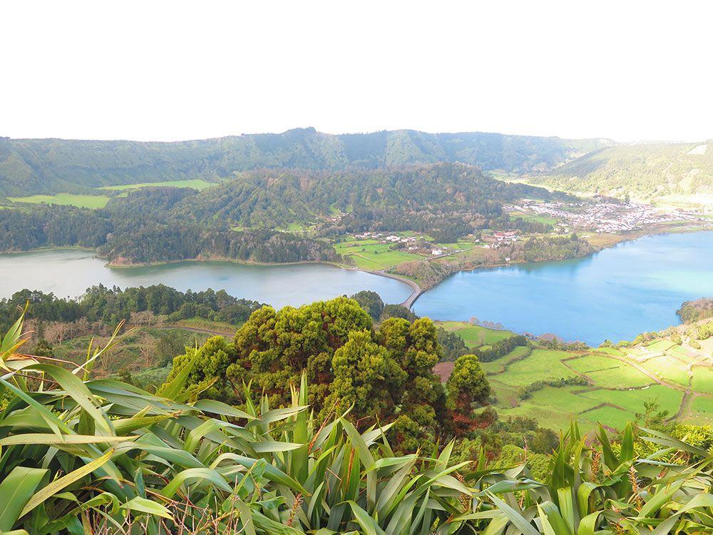 Lagoa Sete Cedades - Isla de São Miguel - Azores - Vistas