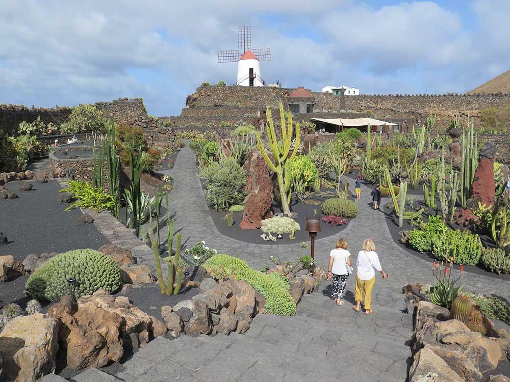 La Lanzarote de César Manrique y Jesús Soto - Jardín de cactus