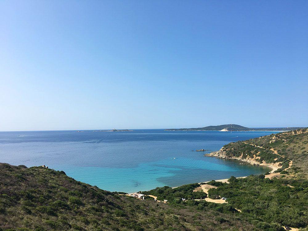 Las mejores playas de Cerdeña - Punta Molentis