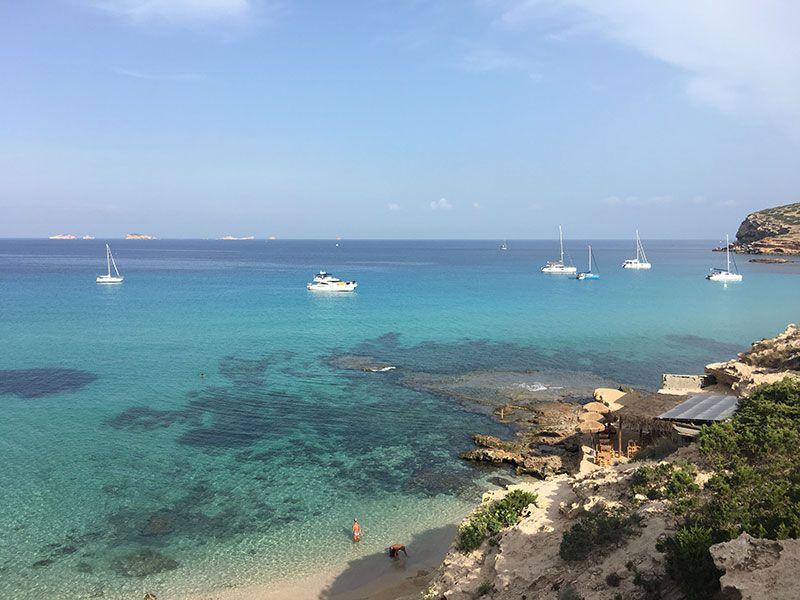 Las mejores playas y calas de Ibiza - Cala Escondida