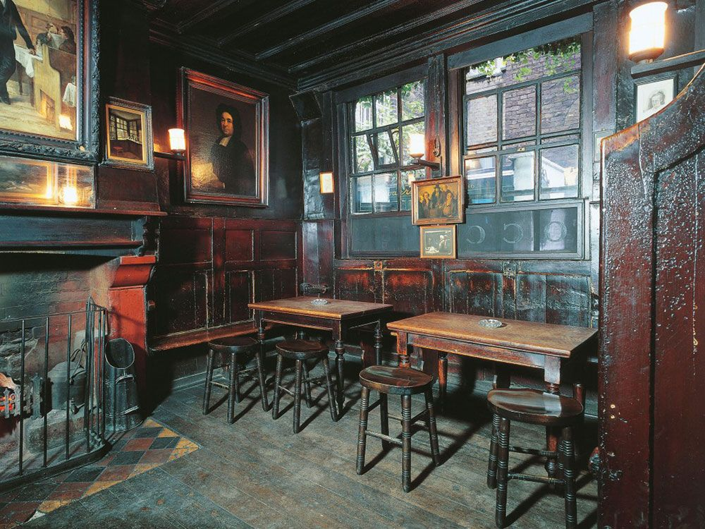 Pubs históricos de Londres - Ye Olde Cheshire Cheese