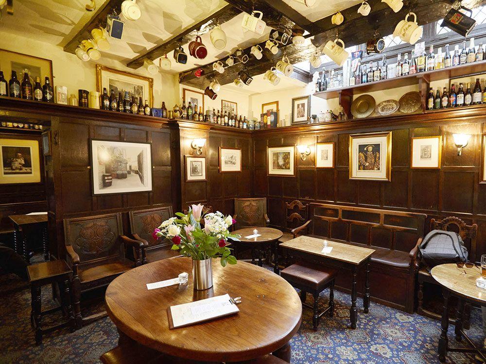 Pubs históricos de Londres - Ye Olde Mitre
