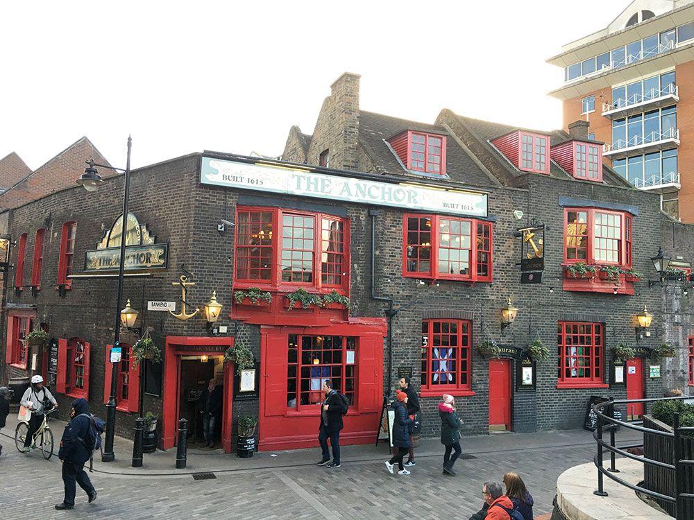 Los pubs más antiguos de Londres - The Anchor Bankside