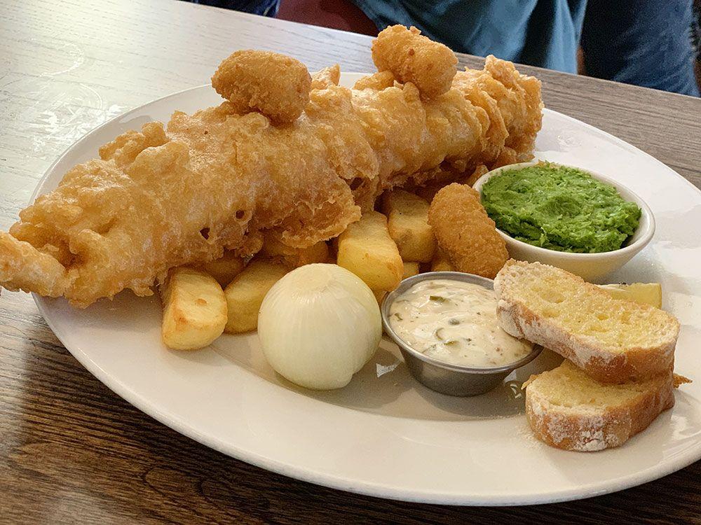Los pubs más antiguos de Londres - Fisch & chips