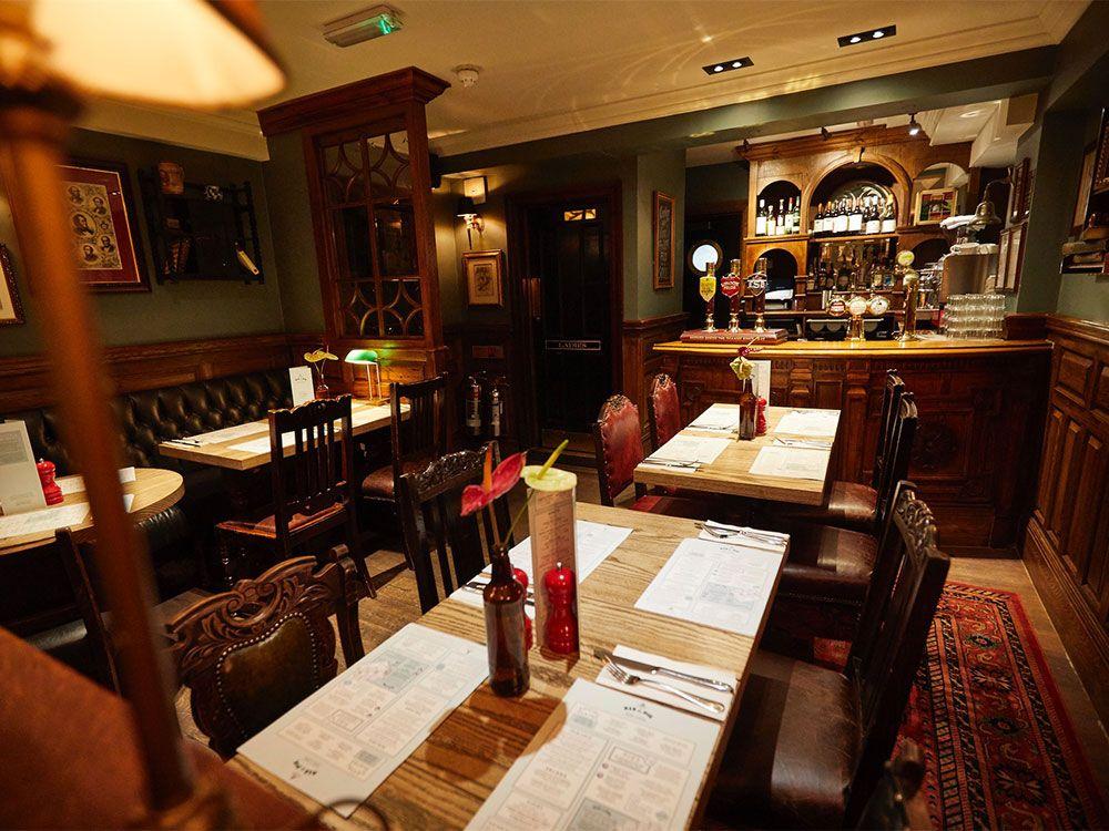 Pubs históricos de Londres - The Red Lion