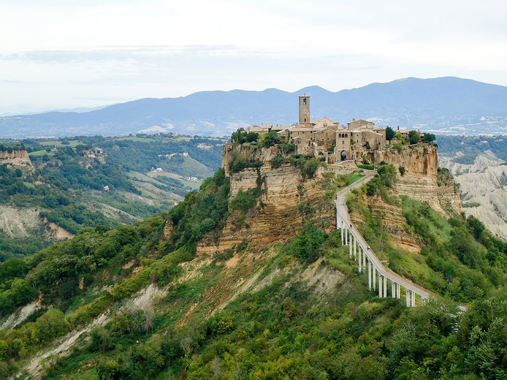 Lugares curiosos de Italia - Civita di Bagnoregio