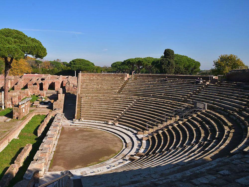 Lugares curiosos de Italia - Ostia Antica