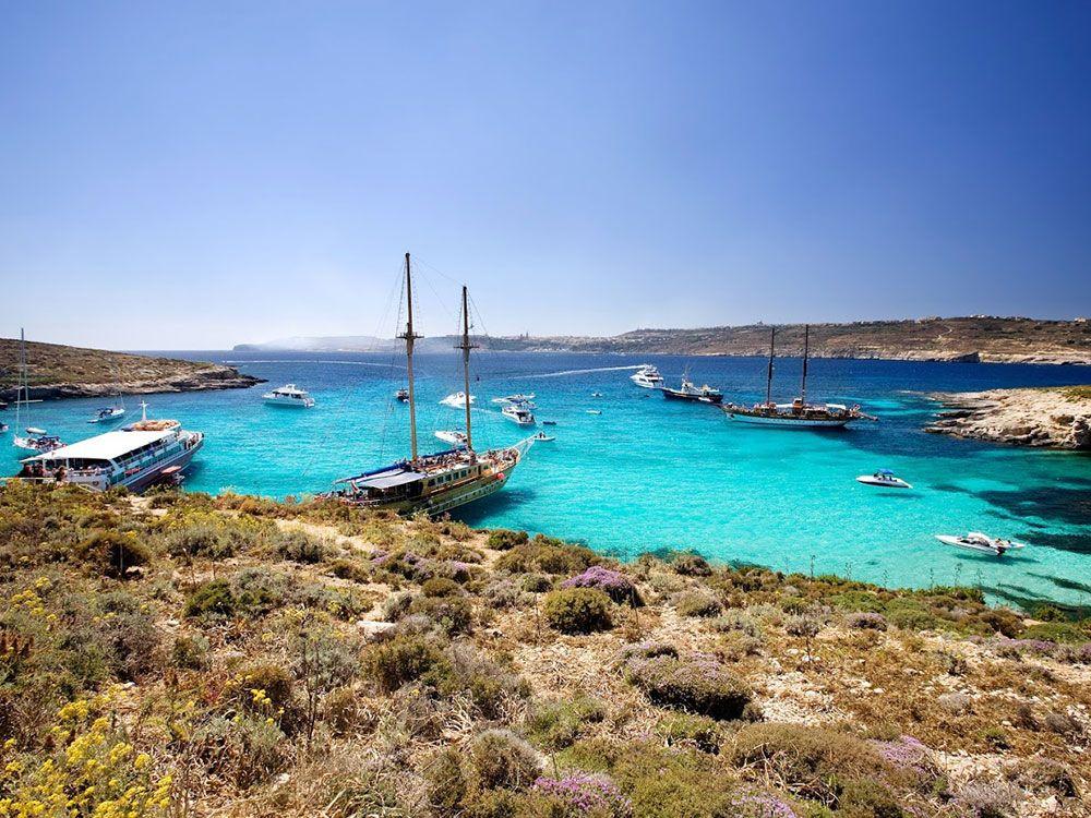 Destinos baratos en invierno - Malta - Playas