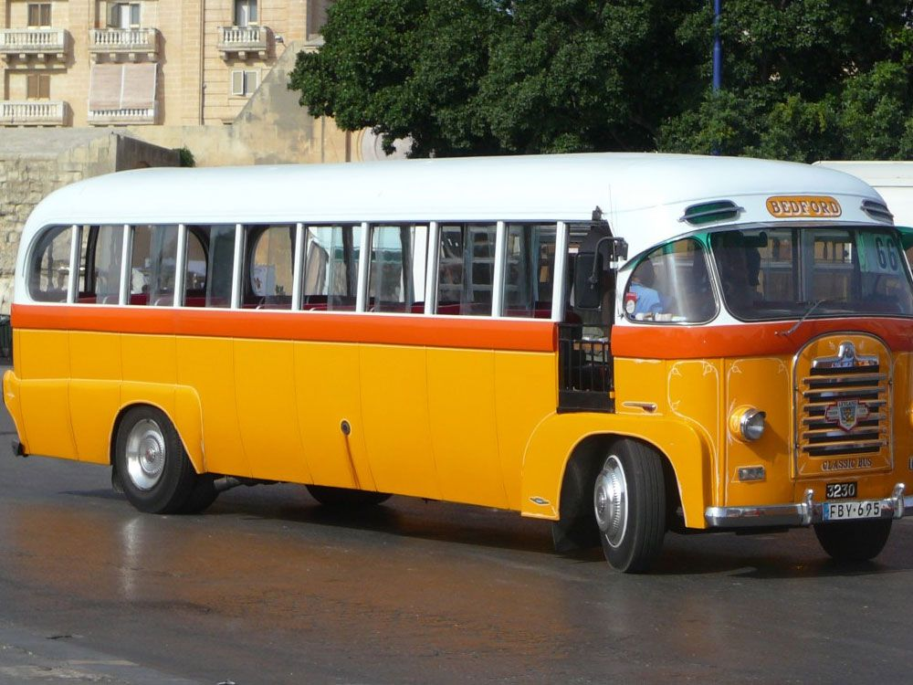 Malta - Antiguo autobús