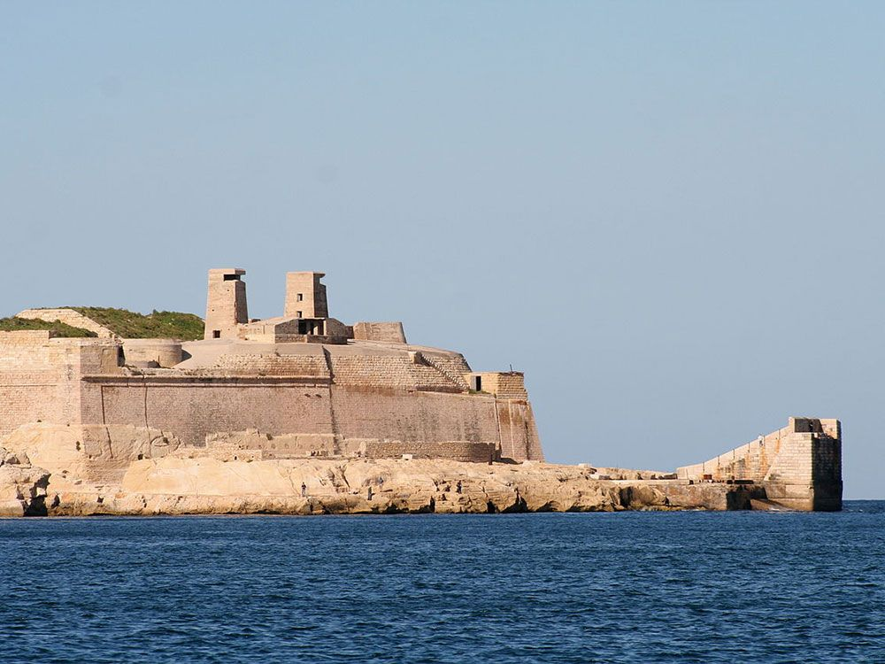 Malta - Fuerte de San Telmo en La Valeta