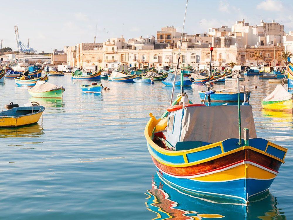 Destinos baratos en invierno - Malta - Marsaxlokk