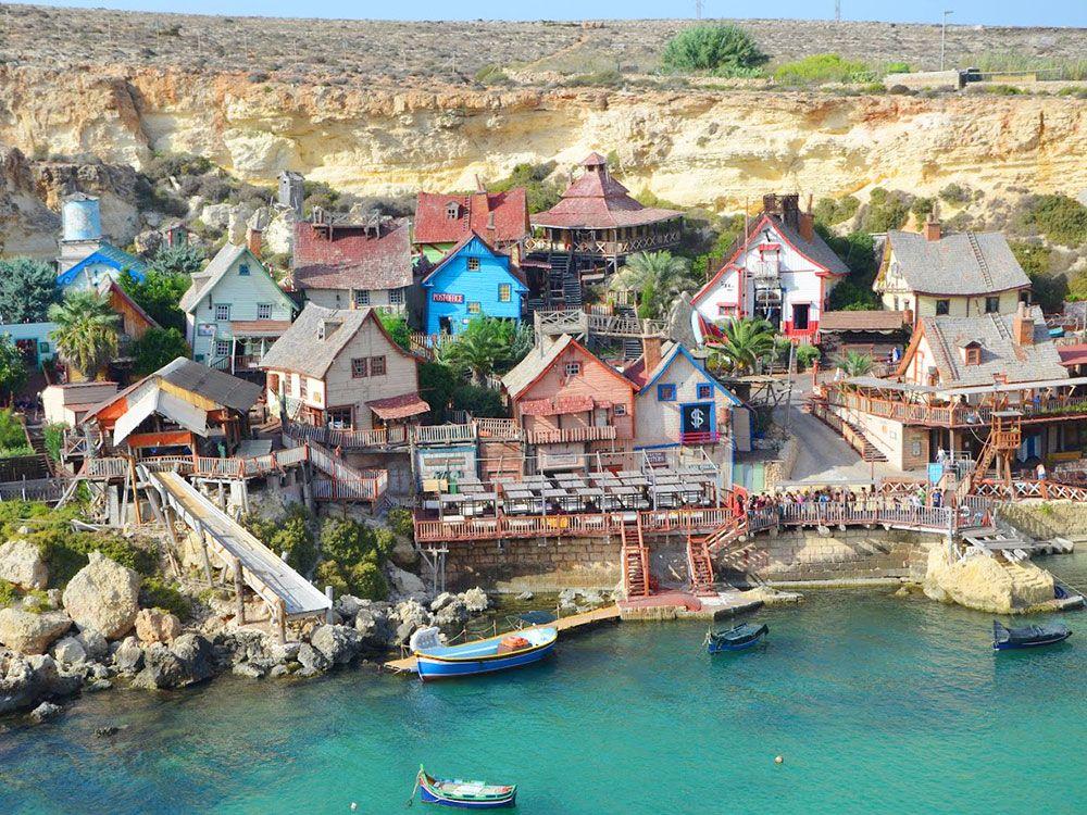 Malta - Pueblo de Popeye
