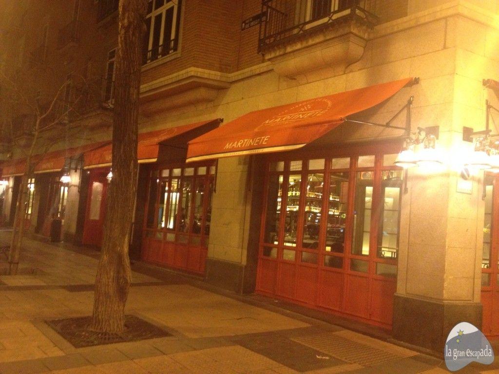 Fachada exterior del restaurante Martinete