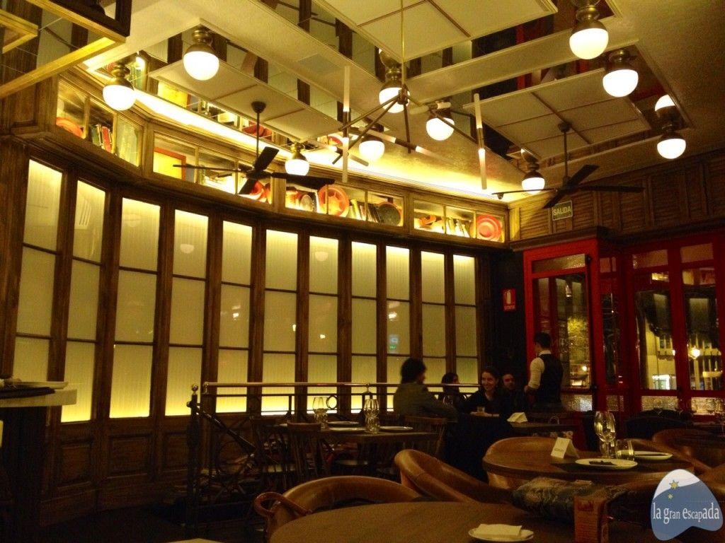 Salón Interior del restaurante Martinete