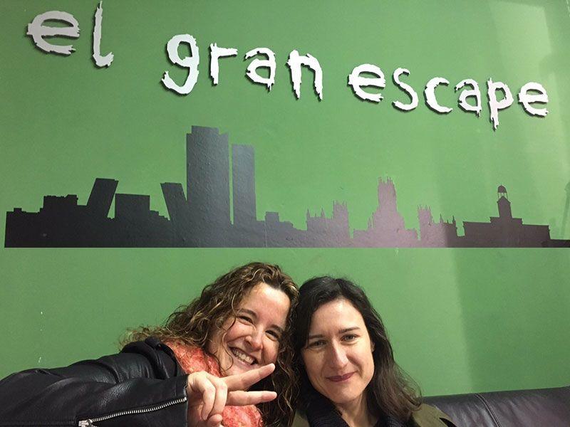 Los mejores escapes room Madrid - - El gran escape - Entrada