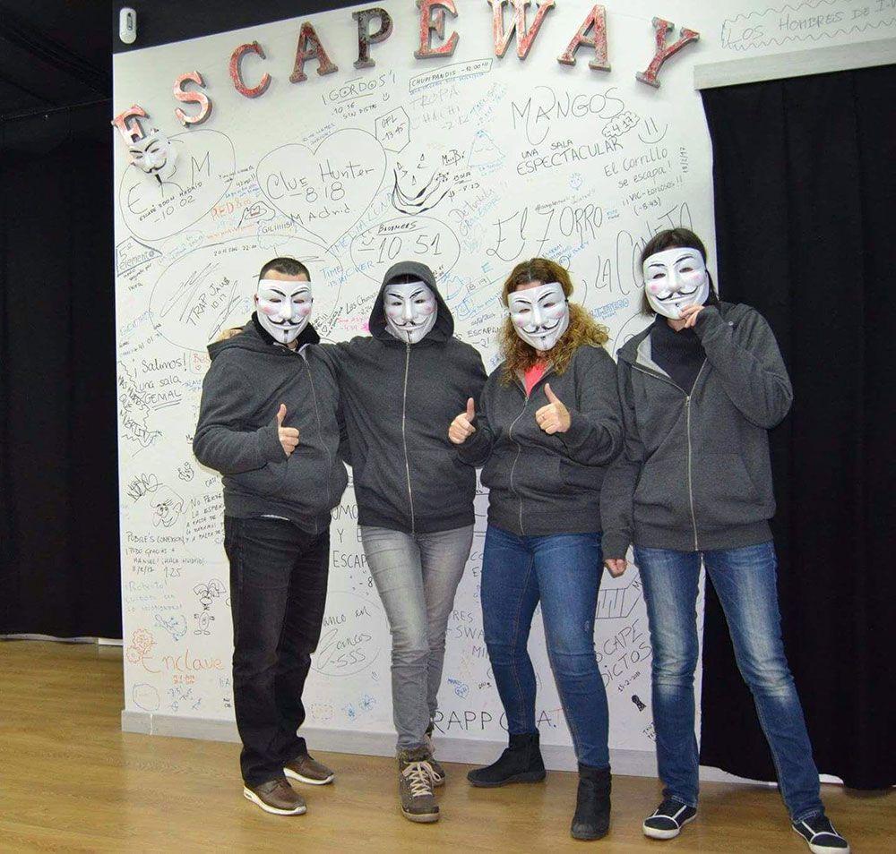 Los mejores escapes room Madrid - Escapeway - El escondite del hacker