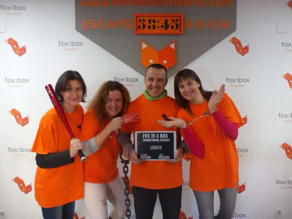 Los mejores escapes room Madrid - Fox in a Box - Prison Break