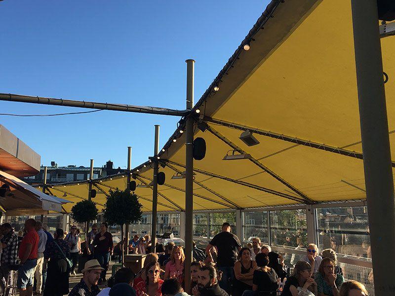 Mejores vistas de Estocolmo - Restaurante con terraza del mirador Katarina