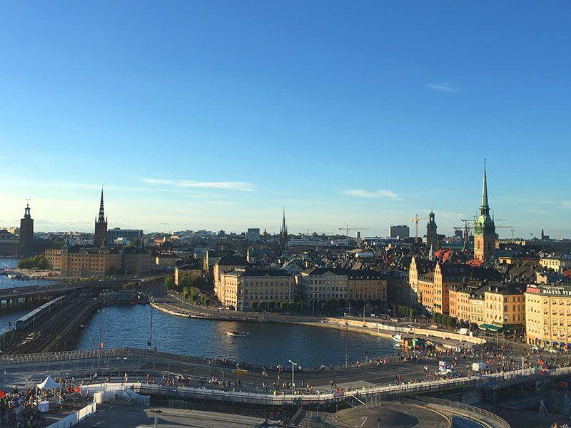 Mejores vistas de Estocolmo - Mirador Kataryna - Vistas de Gamla Stan