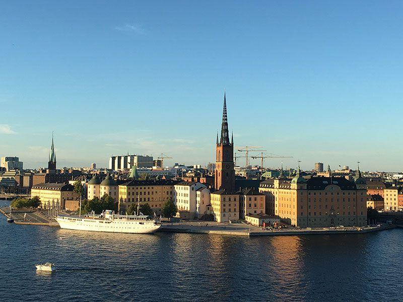 Mejores vistas de Estocolmo - Monteliusvagen - Riddarholmen