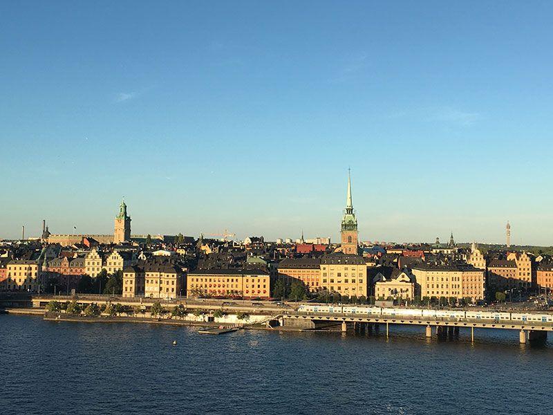 Mejores vistas de Estocolmo - Monteliusvagen - Gamla Stan
