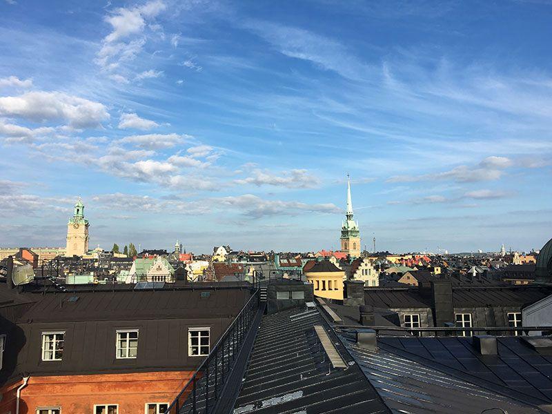 Mejores vistas de Estocolmo - Ruta por los tejados - Vistas