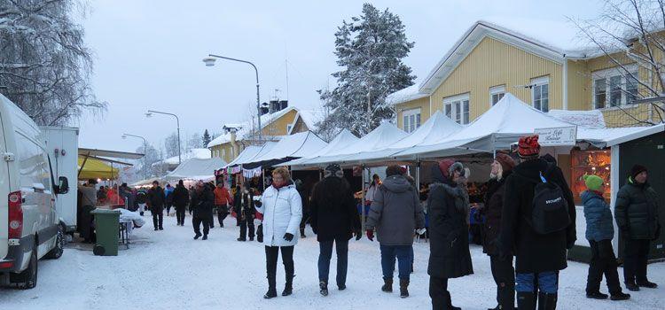Mercado de invierno de Jokkmokk