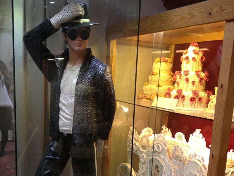 Michael Jackson hecho con mazapán