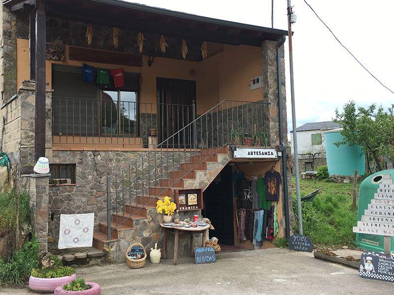 Mina de oro de Las Médulas - Tiendecita de artesanía y gastronomía local