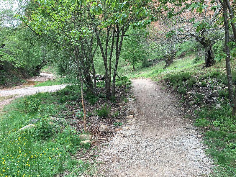 Mina de oro de Las Médulas - Caminito de la senda corta