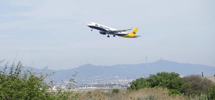 Mirador de aviones del Prat de Llobregat