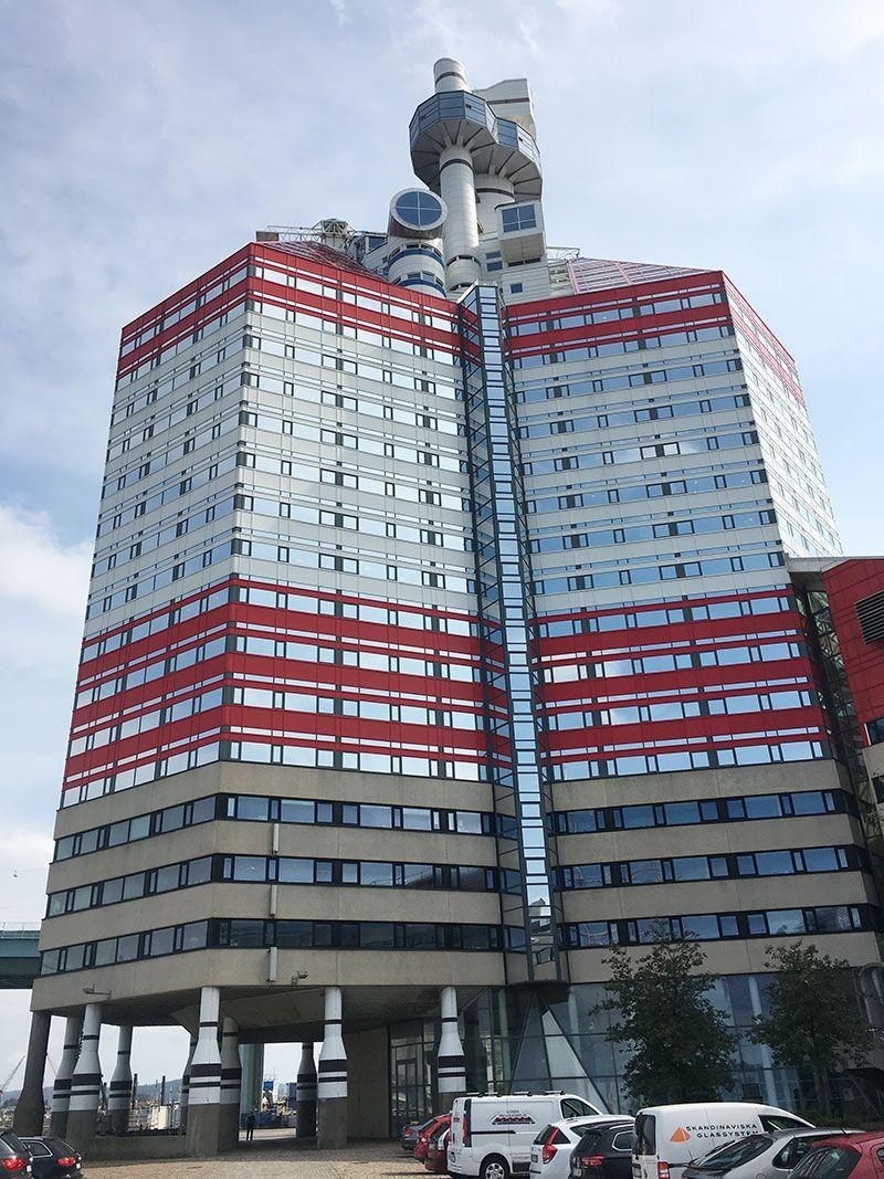 Miradores de Gotemburgo - Suecia - Edificio Läppstiftet