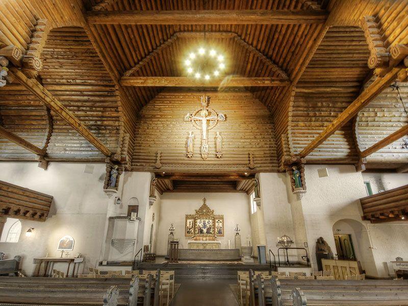 Miradores de Gotemburgo - Suecia - Iglesia Masthuggskyrkan