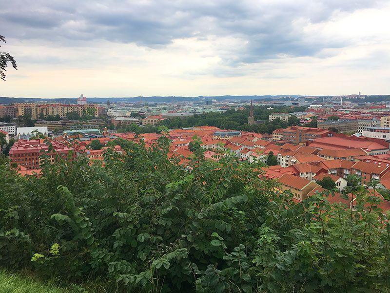 Miradores de Gotemburgo - Suecia - Skansen Kronan - Vistas